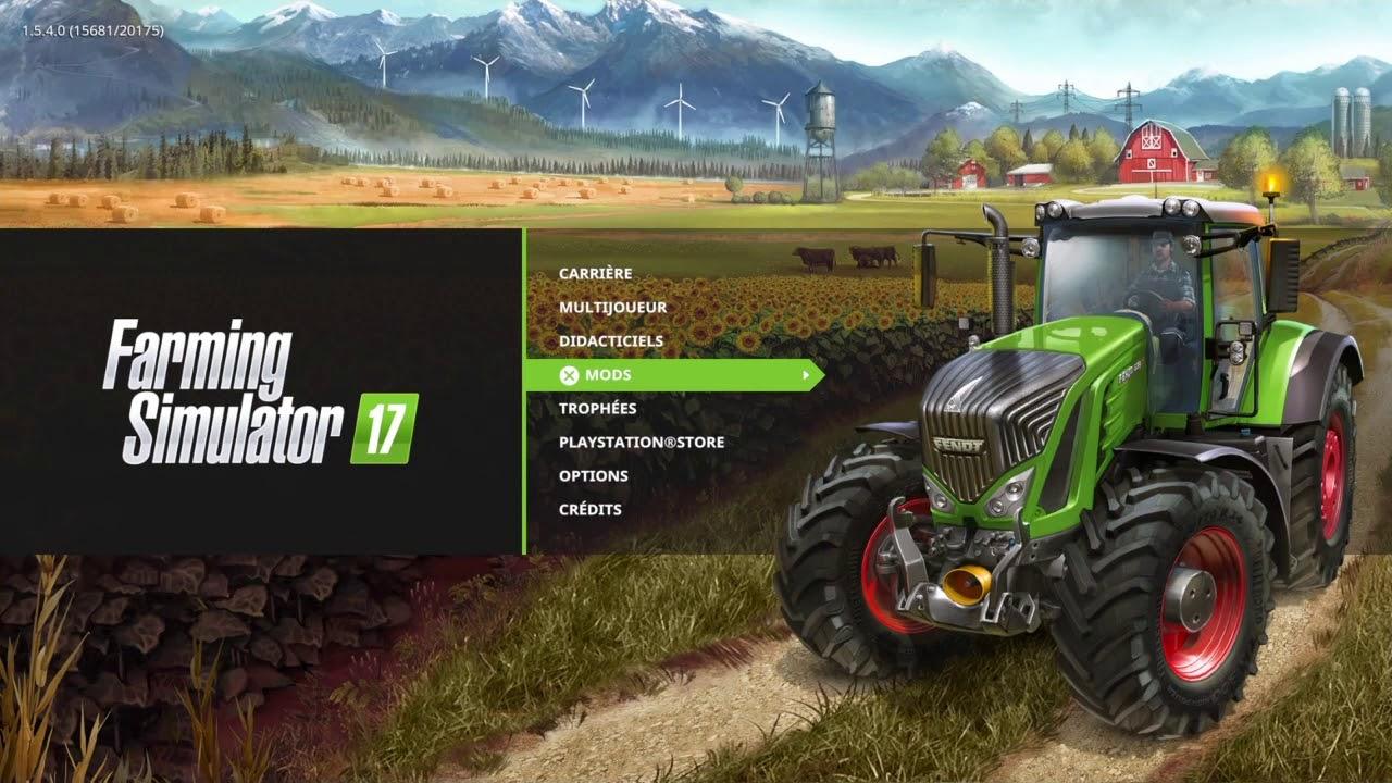Comment avoir beaucoup d'argent sur farming simulator 17 (PS4 PS3 PC X BOX)