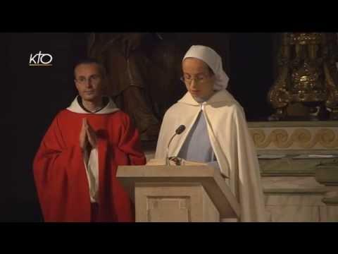 Vêpres et Eucharistie du 18 octobre 2014