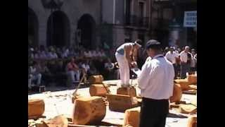 preview picture of video 'Azkoitia   2  mailako aizkora kanporaketa'