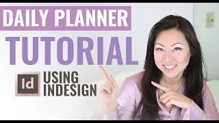 DIY Planner Design Tutorial | How To Design Planner Pages In InDesign