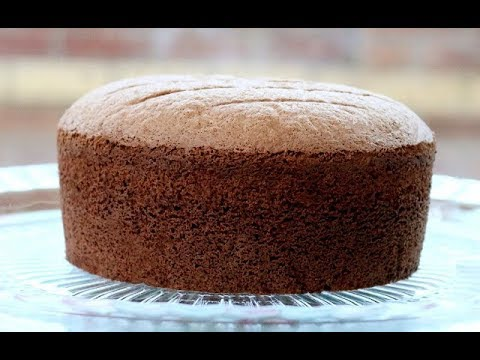 Video How To Make Soft Chocolate Sponge Cake
