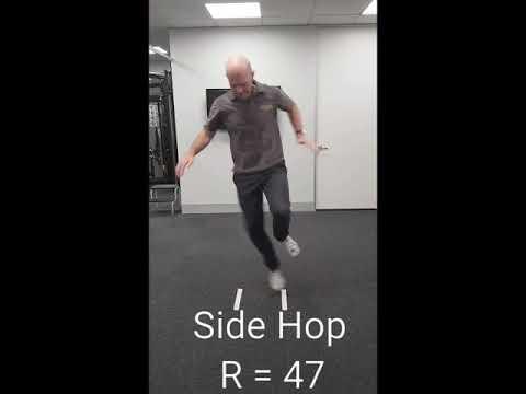 Side Hop Test