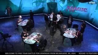 Pro Tour Battle for Zendikar Round 15 (Standard): Paulo Vitor Damo Da Rosa vs. Jon Finkel