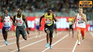 Men's 4 x 100m Relay at Athletics World Cup 2018