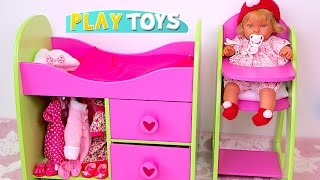 Baby Doll Nursery Furniture Toys