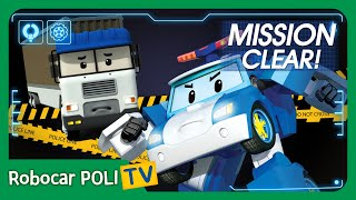 MISSION CLEAR! Stop the Terry!   Roobocar POLI TV