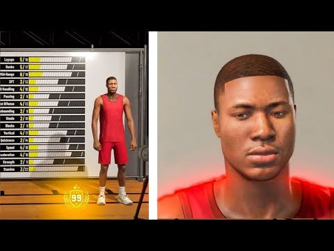 NBA 2K19 MYPLAYER CREATION, BEST FACE SCAN  THIS IS ACTUALLY
