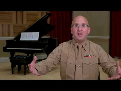 Capt. Ryan J. Nowlin discusses Bach's Fantasia and Fugue in C minor, BWV 537