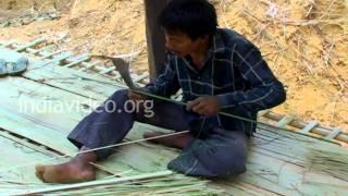 Bamboo workers in Damcherra, Tripura