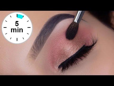 5 MINUTE Eyelook Using ONLY 3 STEPS!   Super Easy Eye Makeup Tutorial