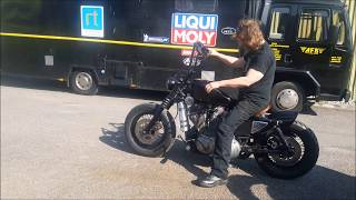 Harley Sportster with auto clutch