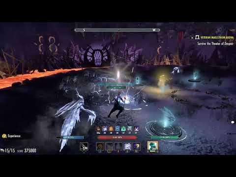 ESO vMA Magicka Sorcerer 601k Murkmire - Xbox One