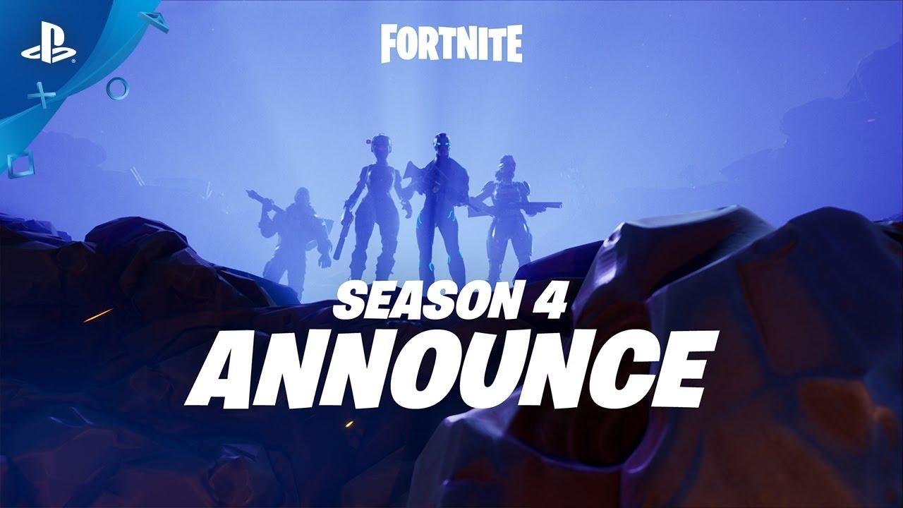 Prepare-se Para o Impacto. A Season 4 de Fortnite Chegou!
