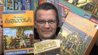 Top Spiele von Jörg Teil 5: Agricola bzw. bzw. Caverna (Lookout) - ab 8 bzw. 12 Jahre