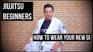 Jiujitsu beginners: How to wear your new Gi ▷▷