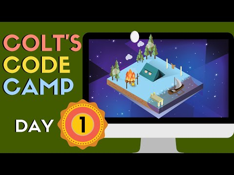 Colt's Code Camp Day 1