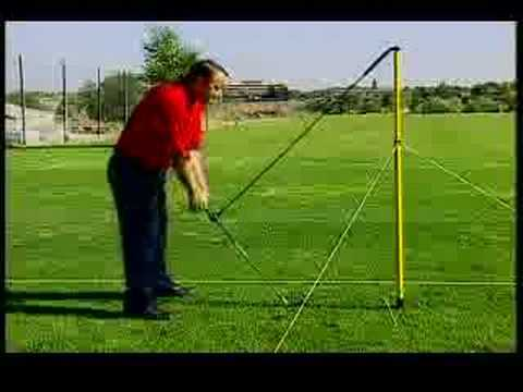 Golf Lesson: Correct posture and swinging techniques