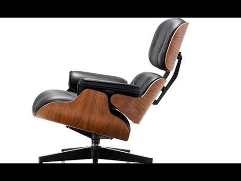 Making the World Famous Eames Lounge Chair and Ottoman