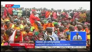 Mbiu ya KTN: Wabunge wa Maasai wateta kuhama chama cha Jubilee kwa kumpa gavana Samuel Tunai tiketi