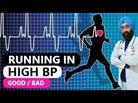 Running in High Blood Pressure is good or bad? | Dr.Education (Hindi)