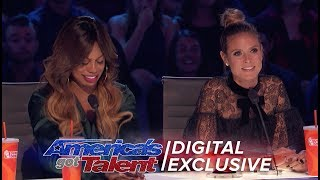 Gambar cover Laverne Cox Holds The Power Of The Golden Buzzer - America's Got Talent 2017 (Extra)