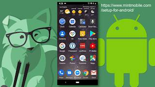 Mint Mobile - setup for Android