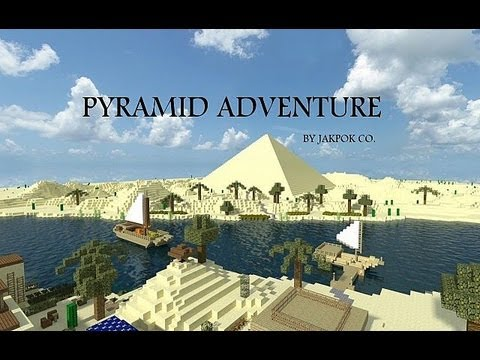 Pyramid Adventure Adventure Map Minecraft Project - Adventure maps fur minecraft