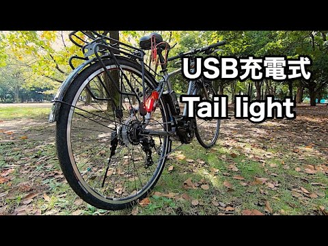 XANES Bicycle USB Rechargeable LED Light for my ebike