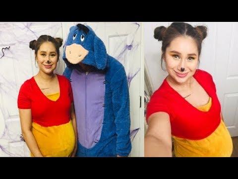 Disfraz Facil y Sencillo para Embarazada (Winnie The Pooh)