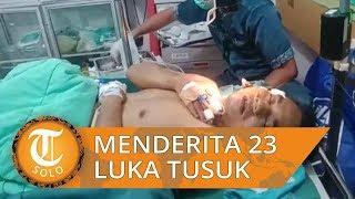Duel dengan Begal untuk Pertahankan Mobil, Seorang Driver Taksol di Palembang Terima 23 Tusukan
