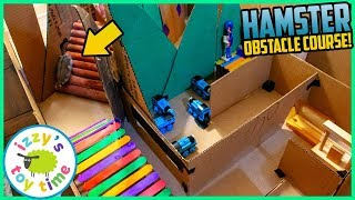 HAPPY THE HAMSTER OBSTACLE COURSE!