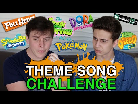 Theme Song Challenge w/ Thomas Sanders