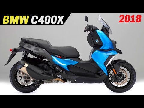 NEW 2018 BMW C400X Scooter – Updated High Fashion Styling And Features EICMA 2017