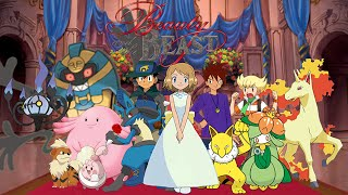 Pokemon Disney - Beauty And The Beast Something There