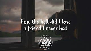 FINNEAS   I Lost A Friend (Lyrics  Lyric Video)