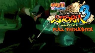 Naruto Shippuden: Ultimate Ninja Storm 3 - Walkthrough Part 4, Gameplay Xbox 360