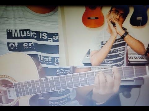 AUR IS DIL MEIN - GUITAR - HARMONICA -VOCALS by PARSHURAM