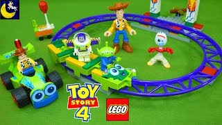 NEW Lego Sets Toy Story 4 Toys 2019 Unboxing Video for Kids RC Carnival Roller Coaster Ride Sets