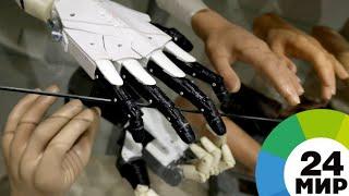 Легкий и функциональный: первый бионический протез руки создали в Кыргызстане - МИР 24