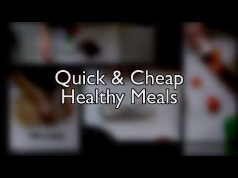 5 Easy-to-Make, Cheap, and Healthy Snacks!