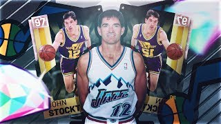 WE GOT 4 PINK DIAMONDS! PINK DIAMOND JOHN STOCKTON! BEST TEAM IN THE GAME! NBA 2K19 MYTEAM GAMEPLAY