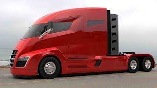 5 Camiones y Autobuses del Futuro que Debes Ver!