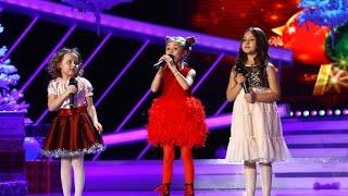 """Sofia Isaccea, Giulia Danca și Sofia Maria Ciobanu cântă """"Jingle Bells"""" în ediția specială de"""