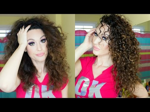 Video DIY Mask for Dry, Frizzy, or Damaged Hair | Great for Curly Hair