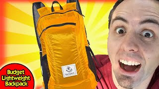 BUDGET LIGHTWEIGHT BACKPACK | 4Monster Packable Backpack Unboxing & First Look Review