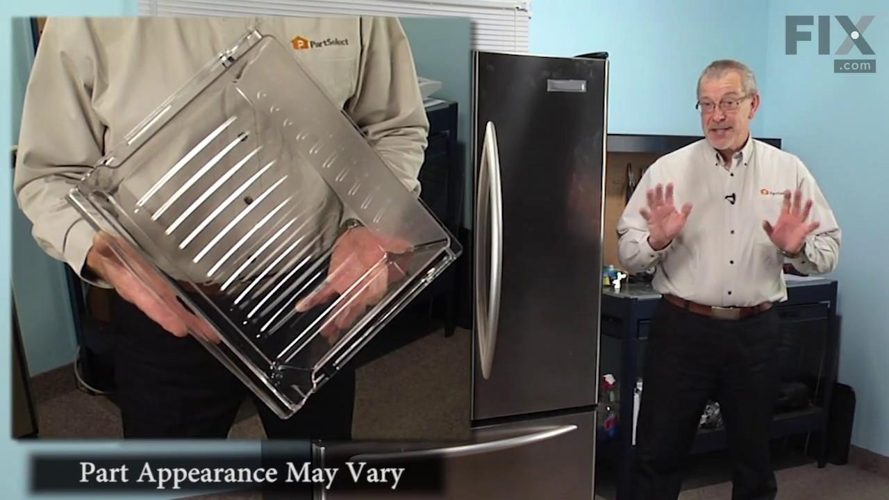 Replacing your Jenn-Air Refrigerator Crisper Drawer