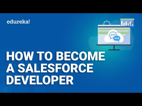 How To Become A Salesforce Developer | Salesforce Training