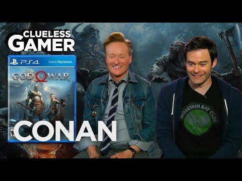 Conan a Bill Hader hrají God Of War