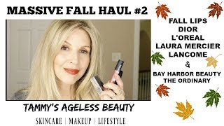 MASSIVE FALL HAUL #2 | BAY HARBOR | LANCÔME | DIOR | #falllook