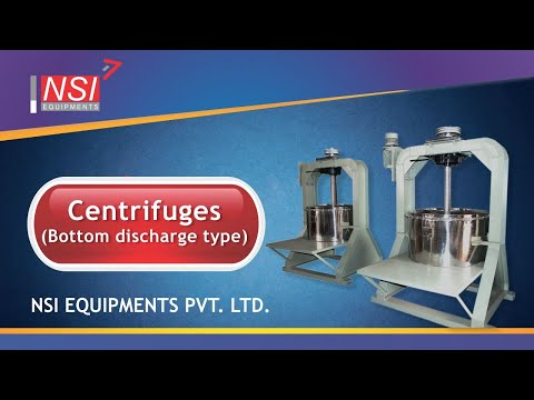 Centrifuge-Top Driven Type